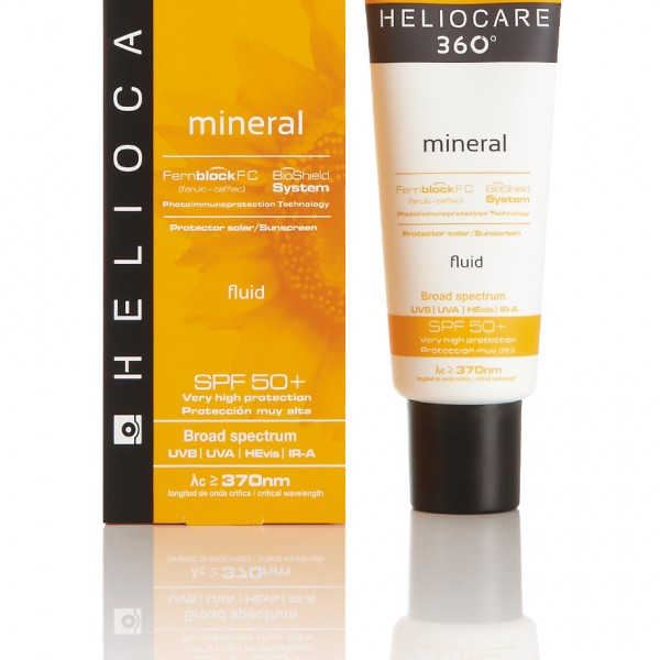 Mineral Fluid SPF 50 with box